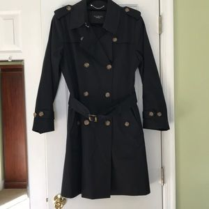 Talbots Trench Coat.Never Worn.Sz-12.